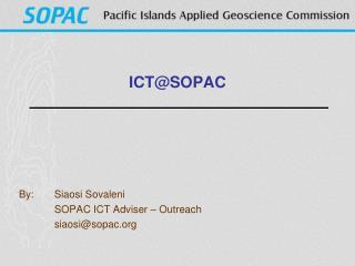 ICT@SOPAC