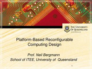 Platform-Based Reconfigurable Computing Design