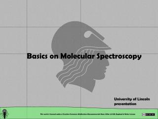 Basics on Molecular Spectroscopy