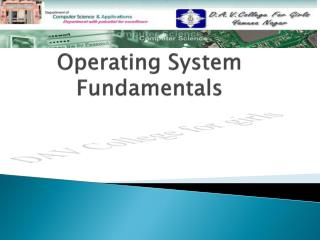 Operating System Fundamentals