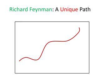 Richard Feynman : A  Unique  Path