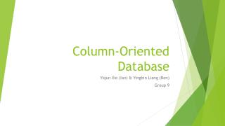Column-Oriented Database