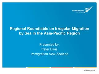 Regional Roundtable on Irregular Migration by Sea in the Asia-Pacific Region