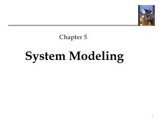 Chapter 5 System Modeling