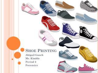 Shoe Printing