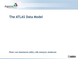 The ATLAS Data Model