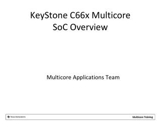 Multicore Applications Team