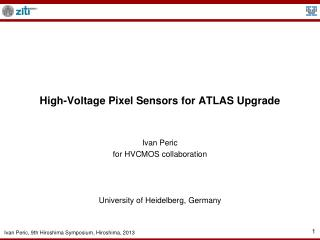 High-Voltage Pixel Sensors for ATLAS Upgrade