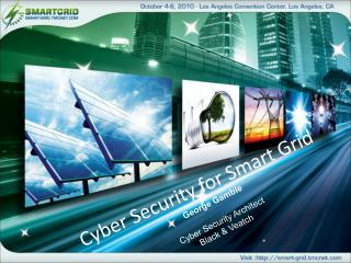 Cyber Security for Smart Grid