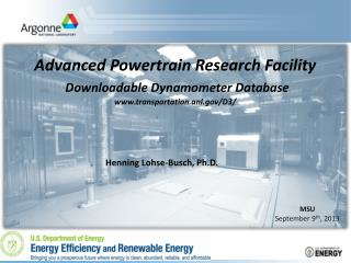 Advanced Powertrain Research Facility