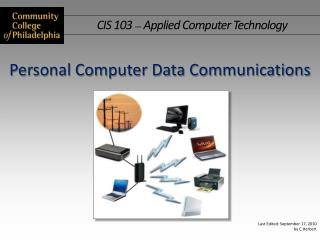 Personal Computer Data Communications