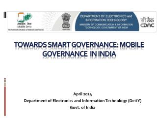 Towards smart governance: M obile   governance  in India