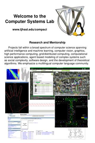 Welcome to the Computer Systems Lab   tjhsst/compsci