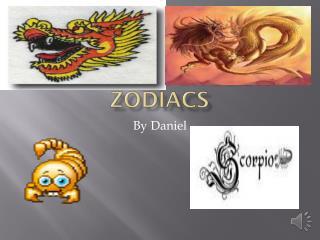 Chinese & English zodiacs