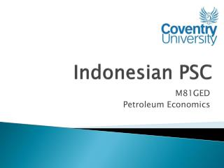 Indonesian PSC