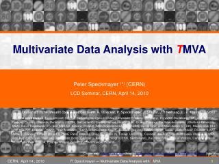 Multivariate Data Analysis with  T MVA