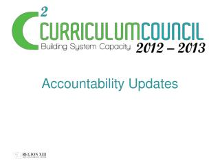 Accountability Updates