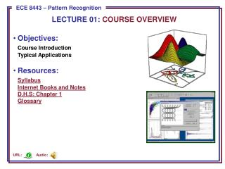 Objectives: Course  Introduction Typical Applications Resources: