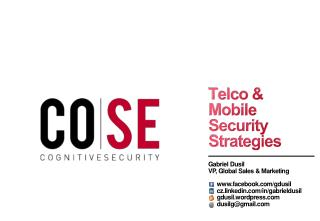 Telco & Mobile Security Strategies
