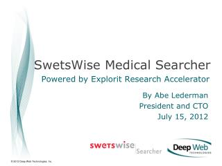 SwetsWise  Medical Searcher