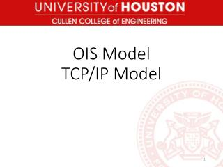 OIS Model TCP/IP Model