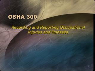 OSHA 300