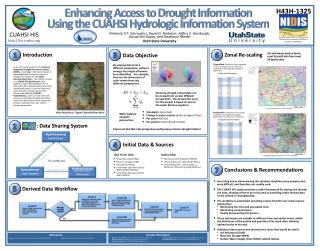 Enhancing Access to Drought  Information Using  the CUAHSI Hydrologic Information System