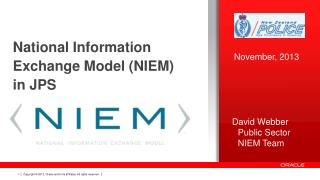 National Information Exchange Model (NIEM) in  JPS