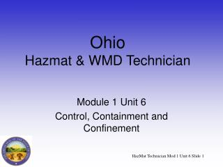 Ohio Hazmat  WMD Technician