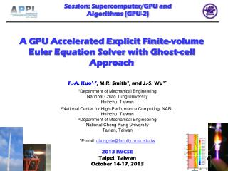 A GPU  Accelerated Explicit Finite-volume Euler Equation Solver  with  Ghost-cell Approach