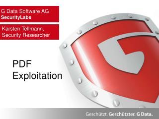PDF  Exploitation