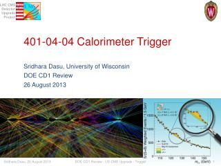 401-04-04  Calorimeter  Trigger