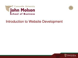 Introduction to Website Development