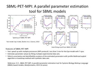 SBML-PET-MPI: A parallel parameter estimation tool for SBML models