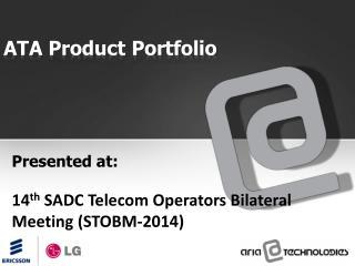 ATA Product Portfolio