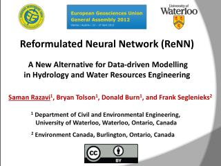 Reformulated Neural Network ( ReNN )  A  New Alternative  for Data-driven  Modelling