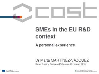 SMEs in the EU R&D context