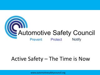 Active Safety – The Time is Now