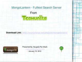 MongoLantern | MongoDB Fulltext Search