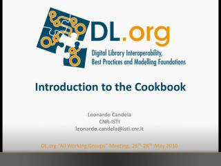 Introduction to the Cookbook