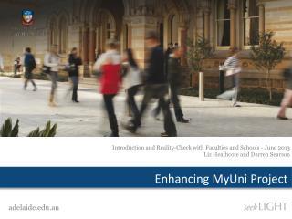 Enhancing  MyUni  Project
