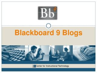 Blackboard 9 Blogs