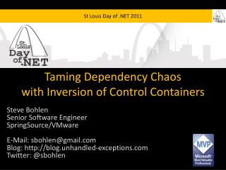 Taming Dependency Chaos with Inversion of Control Containers
