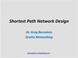 Shortest Path  Network Design