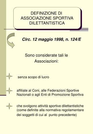 Art. 67, comma 1, lett. m, TUIR redditi diversi Compensi corrisposti nell esercizio di attivit  sportiva dilettantistica