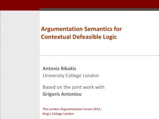 Argumentation Semantics for Contextual Defeasible Logic