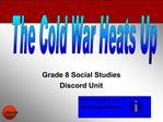Grade 8 Social Studies Discord Unit