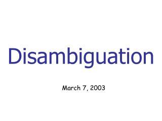 disamb