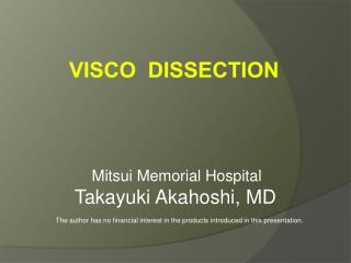 Visco  Dissection
