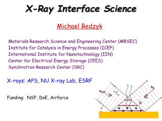 X -Ray  Interface  Science
